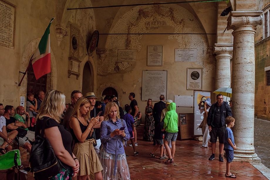 Sesja narzeczeńska w Toskanii