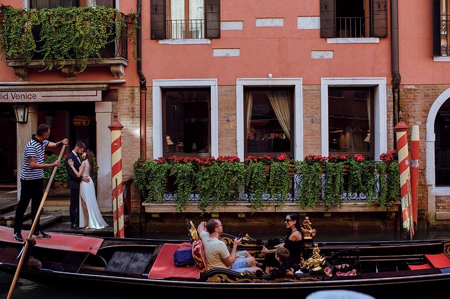 Sesja poślubna w Wenecji