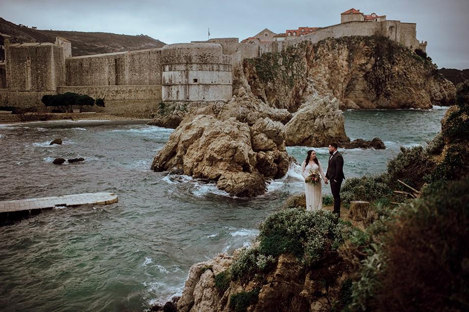 Chorwacja - Sesja poślubna